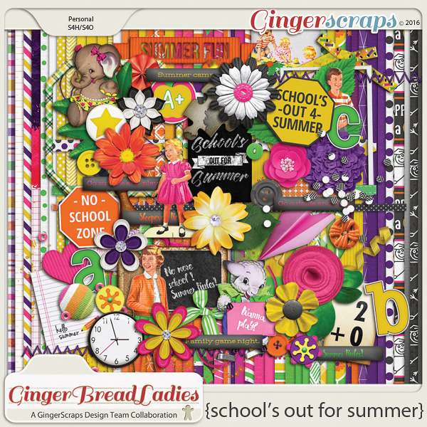 GingerBread Ladies Collab: School's Out For Summer
