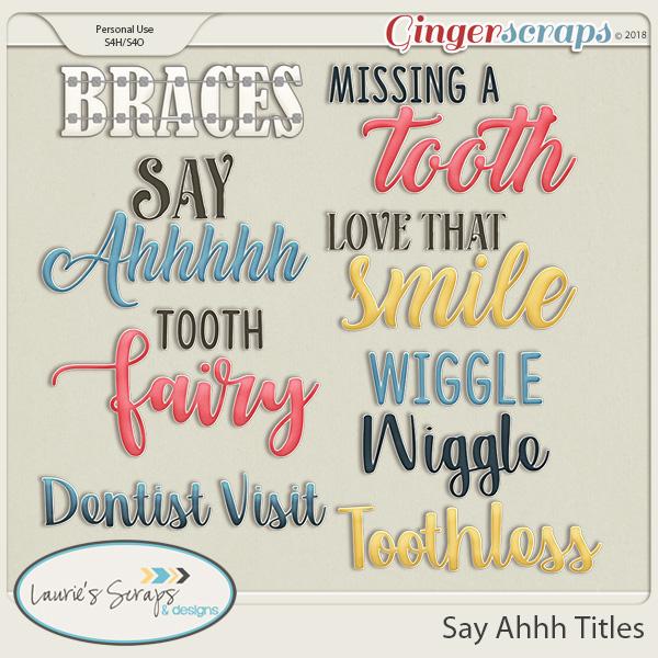 Say Ahhh Titles