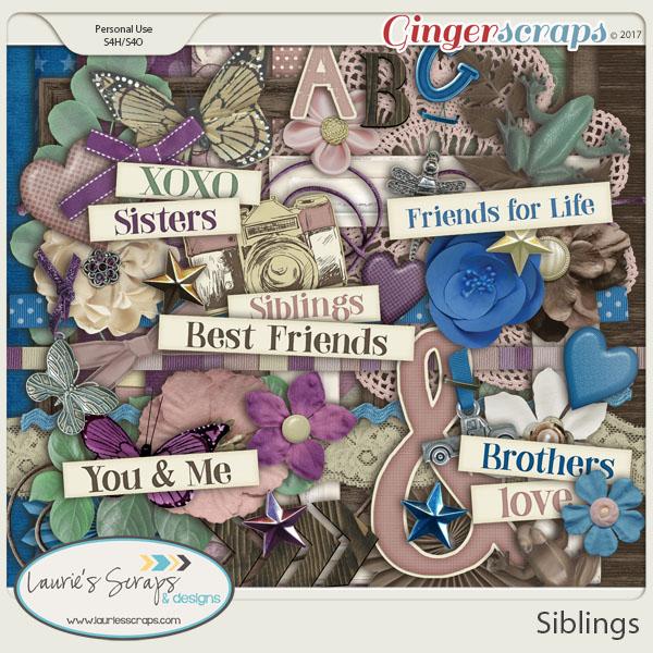 Siblings Page Kit