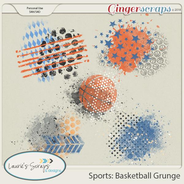 Sports: Basketball Grunge