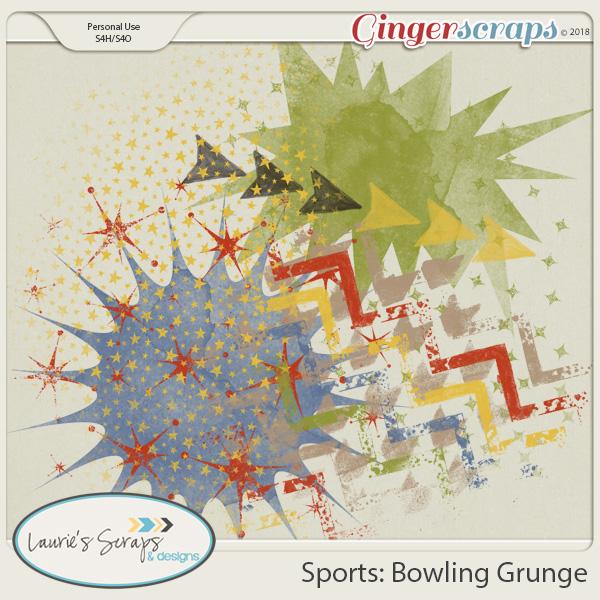 Sports: Bowling Grunge