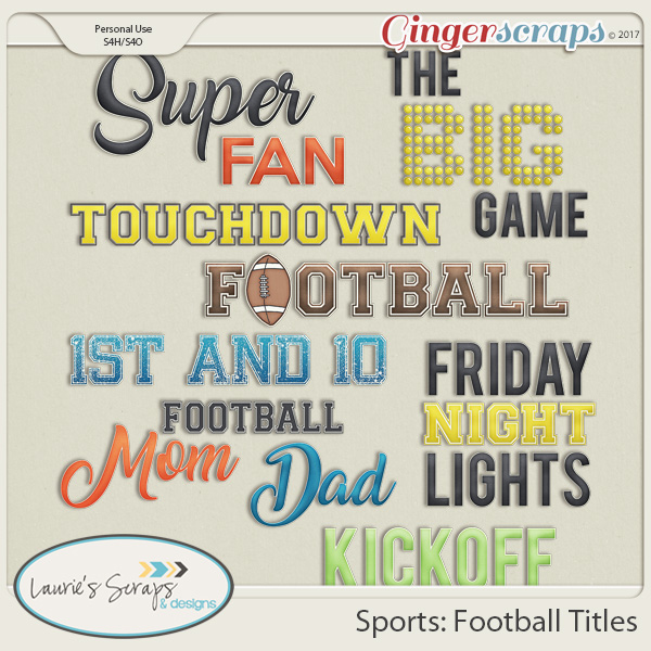 Sports: Football Titles