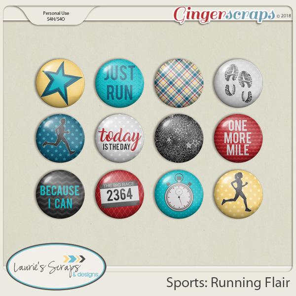 Sports: Running Flairs