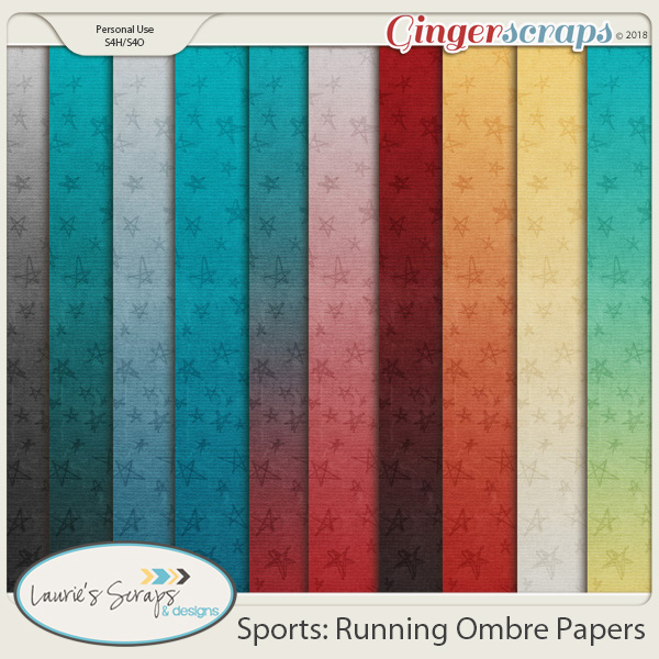 Sports: Running OmbrePapers