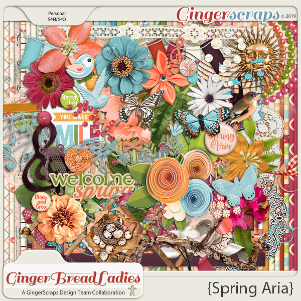 GingerBread Ladies Collab: Spring Aria