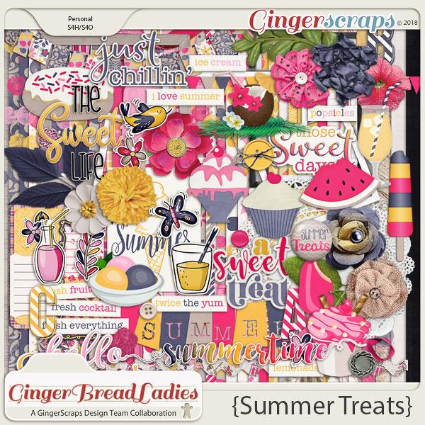 GingerBread Ladies Collab: Summer Treats