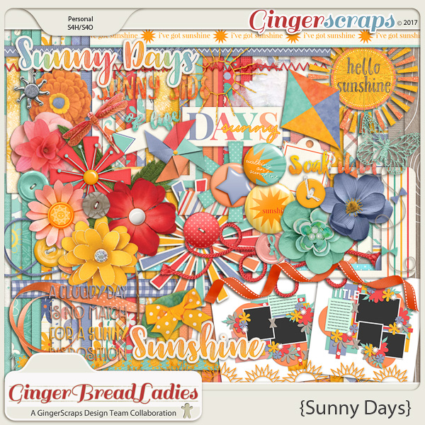 GingerBread Ladies Collab: Sunny Days