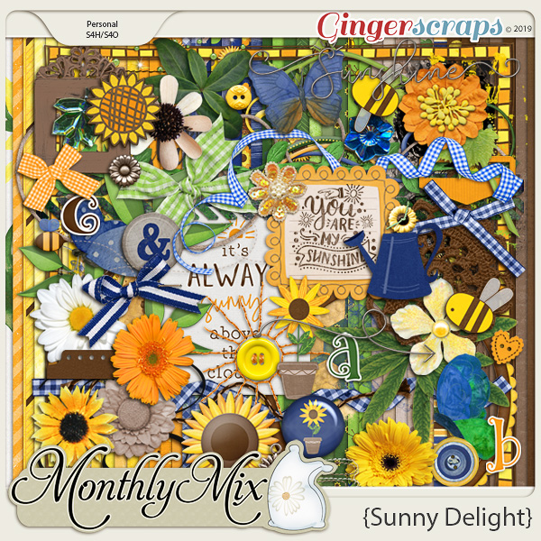 GingerBread Ladies Monthly Mix: Sunny Delight