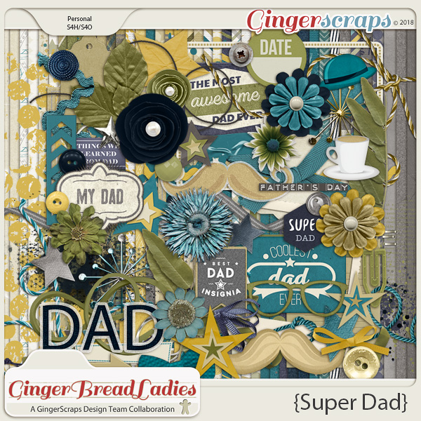 GingerBread Ladies Collab: Super Dad