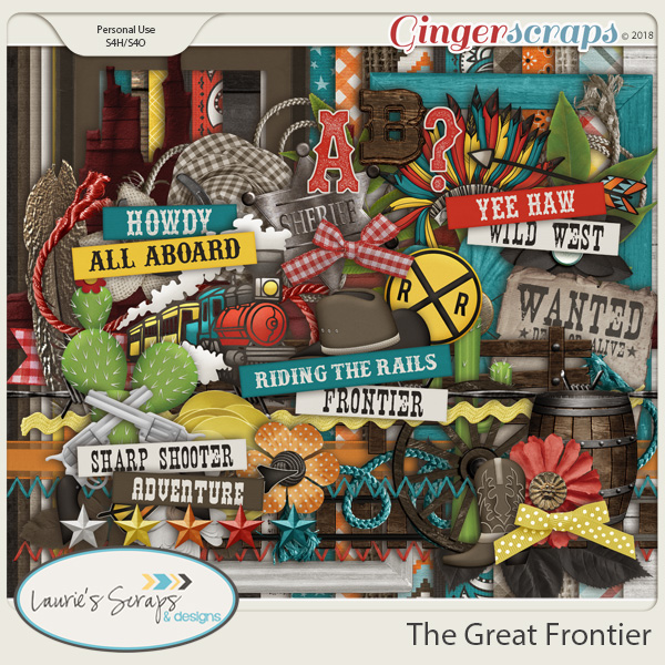 The Great Frontier Page Kit