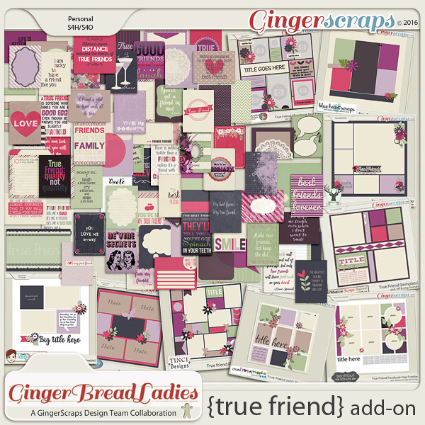 GingerBread Ladies MEGA Collab: True Friend {Add-On}