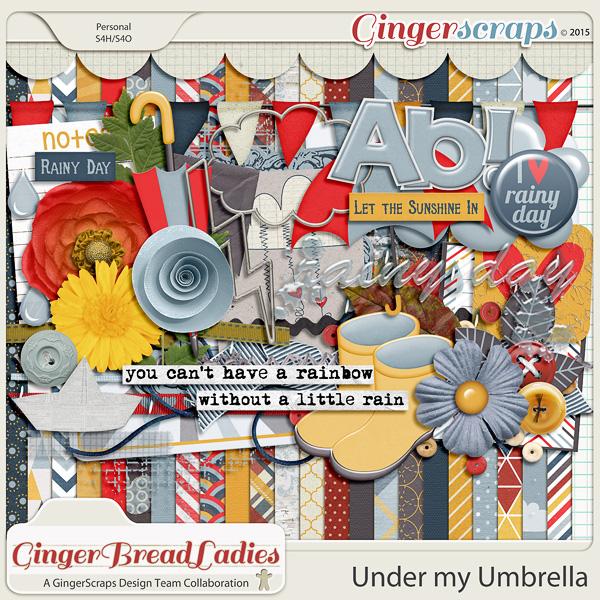 GingerBread Ladies Collab: Under My Umbrella