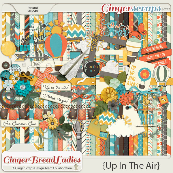 GingerBread Ladies Collab: Up In The Air