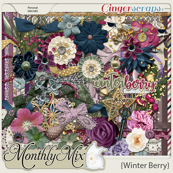 GingerBread Ladies Monthly Mix: Winter Berry