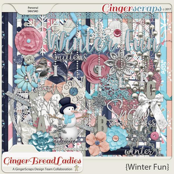 GingerBread Ladies Collab: Winter Fun