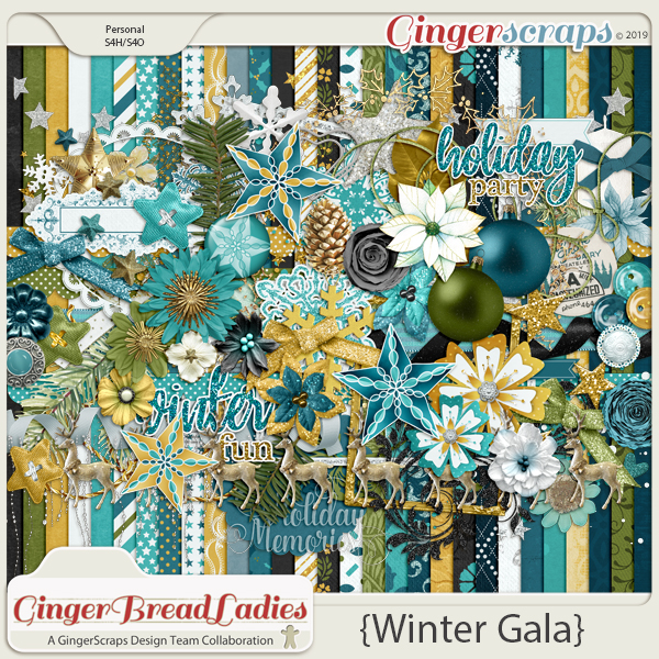 GingerBread Ladies Monthly Mix: Winter Gala