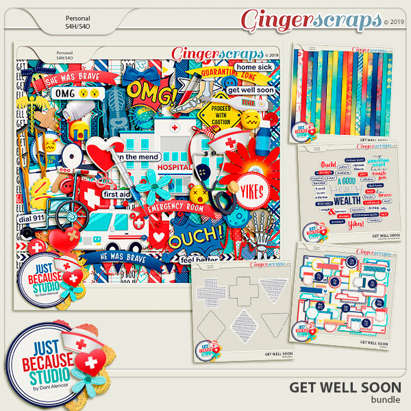 Get Well Soon Bundle by JB Studio