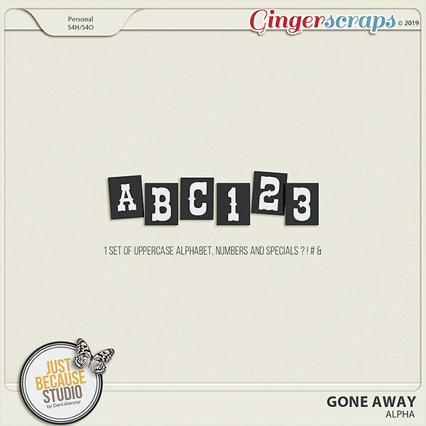 Gone Away Alpha by JB Studio