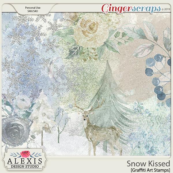 Snow Kissed - Graffiti Art Stamps