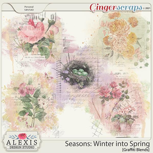 Seasons: Winter into Spring - Graffiti Blends