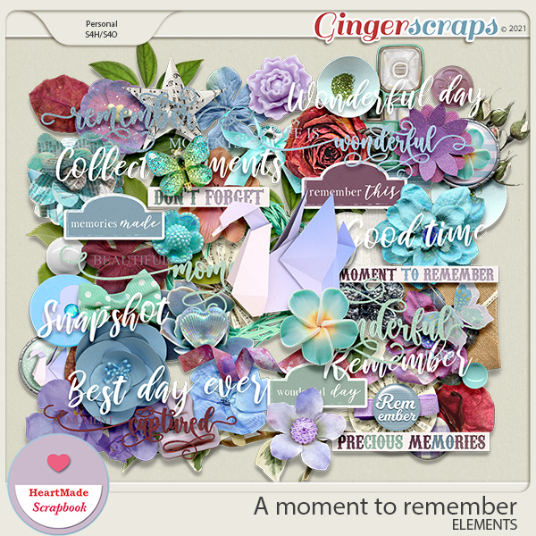 A moment to remember - elements