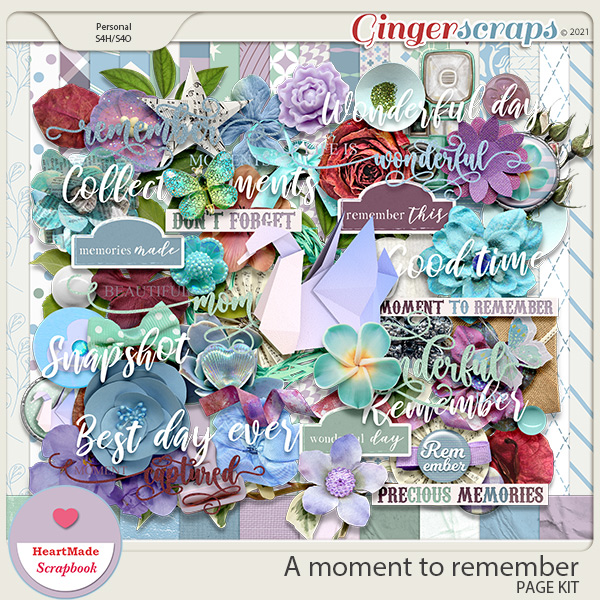 A moment to remember - kit