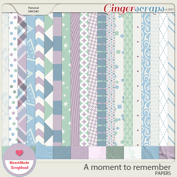 A moment to remember - papers