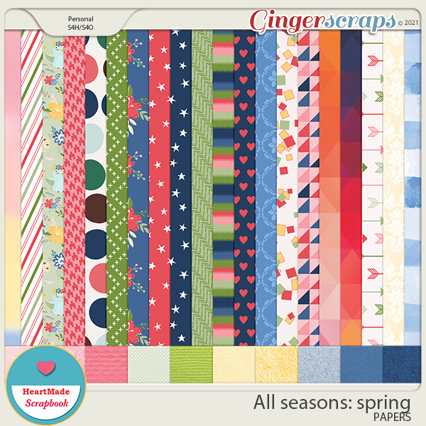 All seasons: spring - papers