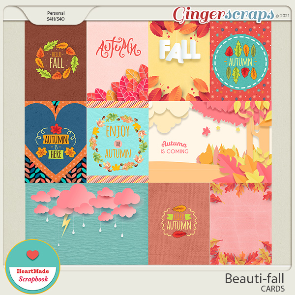 Beauti-fall cards