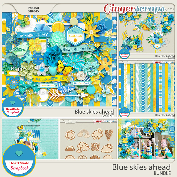 Blue skies ahead - bundle