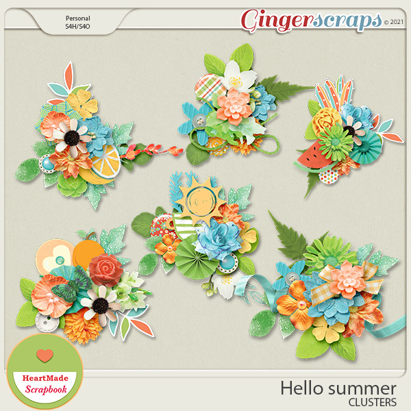 Hello summer - clusters