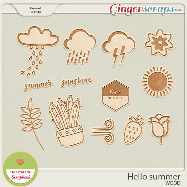 Hello summer - wood
