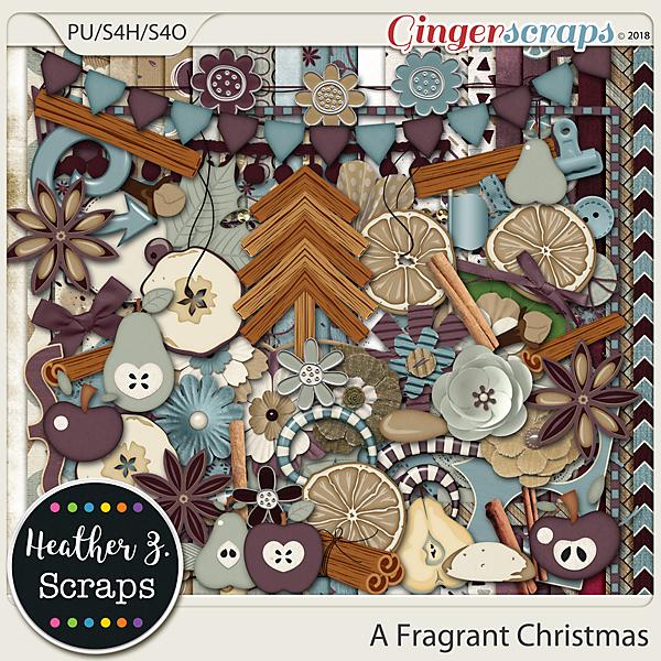 A Fragrant Christmas KIT by Heather Z Scraps