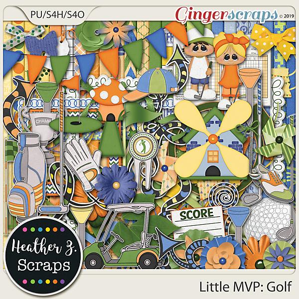 Little MVP: Golf KIT by Heather Z Scraps