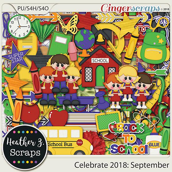 Celebrate 2018: September KIT by Heather Z Scraps