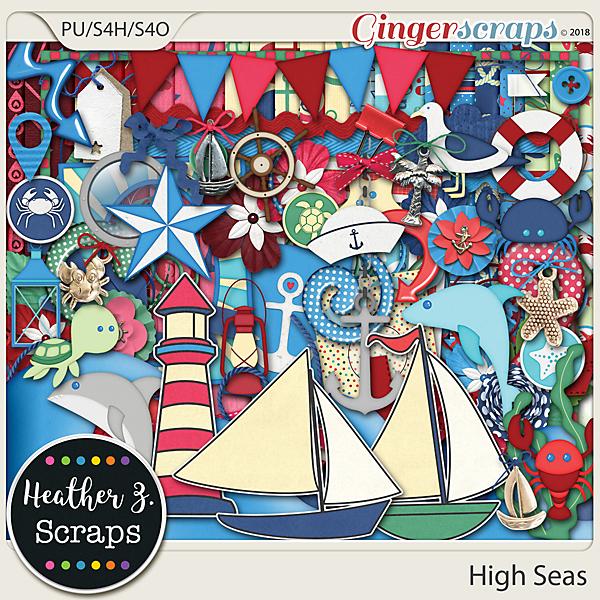 High Seas KIT by Heather Z Scraps