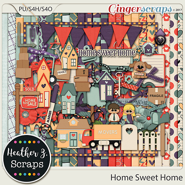 Home Sweet Home KIT by Heather Z Scraps