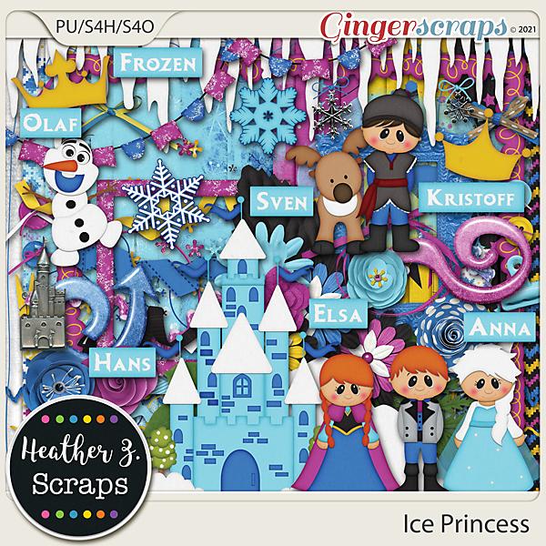 Ice Princess KIT by Heather Z Scraps
