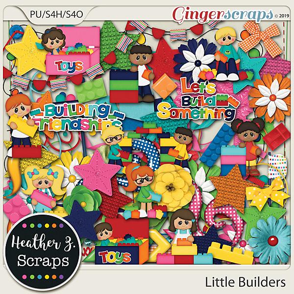 Little Builders ELEMENTS by Heather Z Scraps