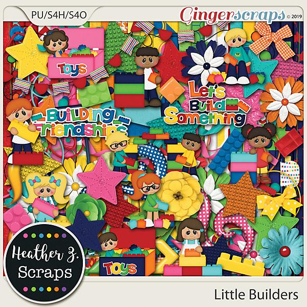 Little Builders KIT by Heather Z Scraps