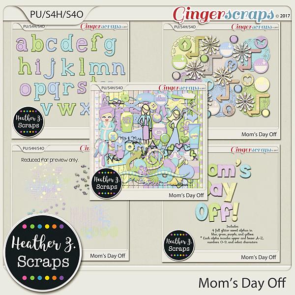 Mom's Day Off BUNDLE by Heather Z Scraps