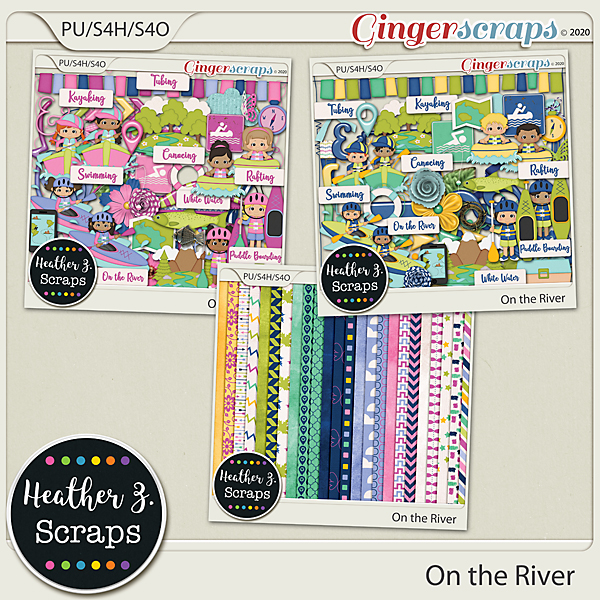 On the River KIT by Heather Z Scraps