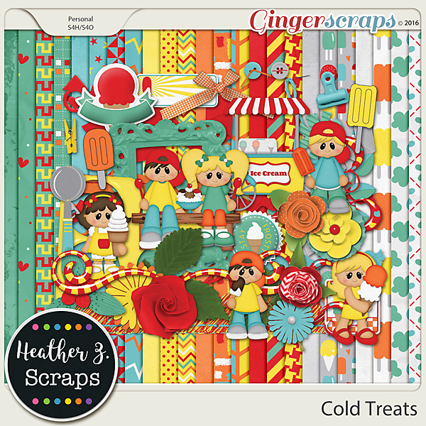 Cold Treats KIT by Heather Z Scraps