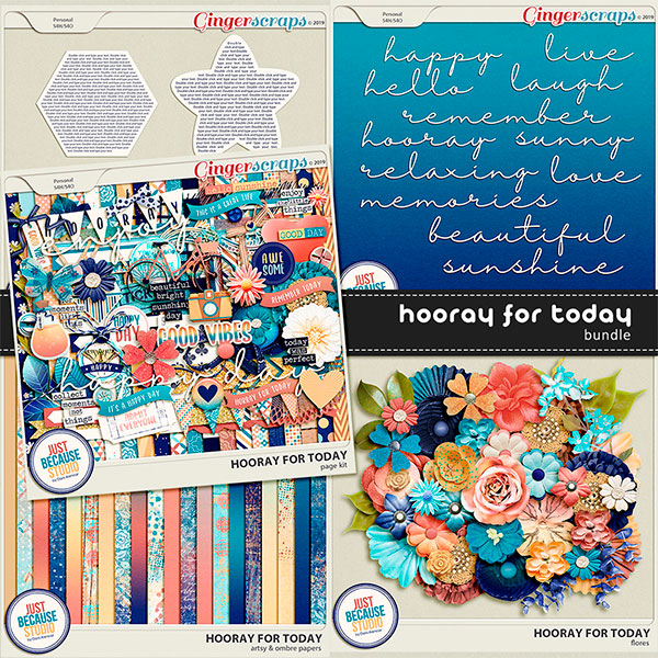 Hooray For Today Bundle by JB Studio (FWP)