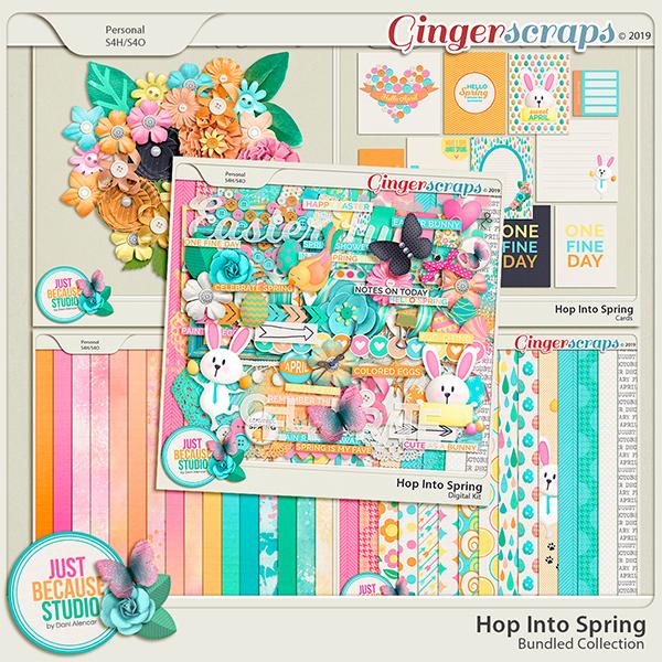 Hop Into Spring Bundle by JB Studio