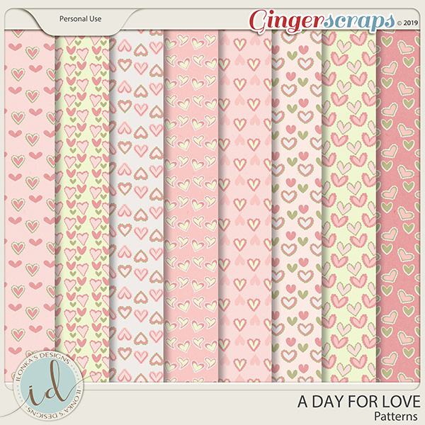 A Day For Love Patterns by Ilonka's Designs
