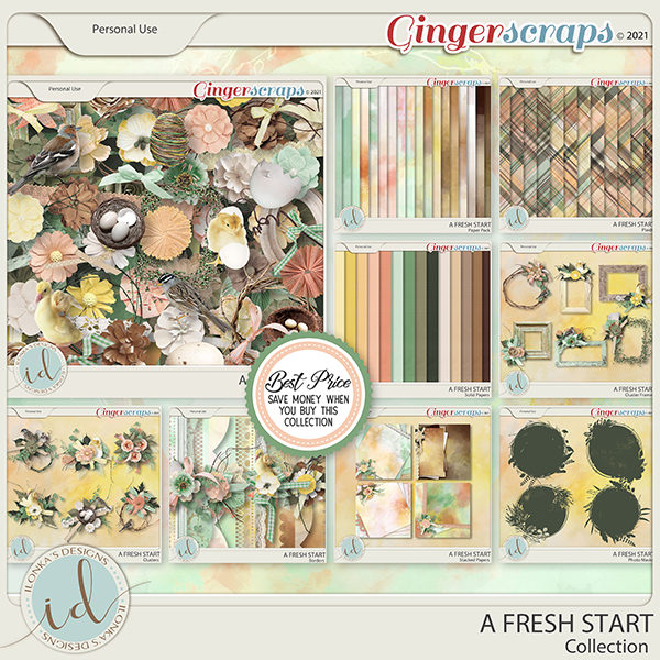 A Fresh Start Collection by Ilonka's Designs