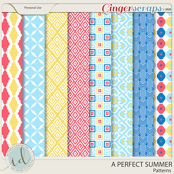 A Perfect Summer Patterns by Ilonka's Designs