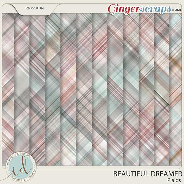 Beautiful Dreamer Plaids by Ilonka's Designs