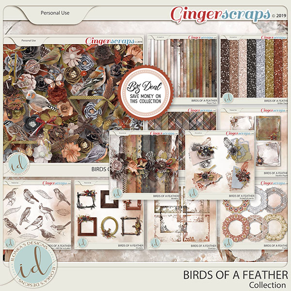 Birds Of A Feather Collection by Ilonka's Designs